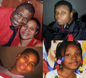 From left to right, top to bottom: Eric Garner, Michael Brown, Tamir Rice, Aiyana Stanley-Jones. Look at their faces. Remember their names.