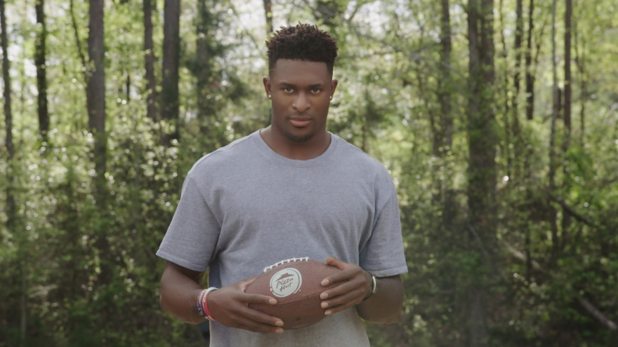 Still from video featuring DK Metcalf